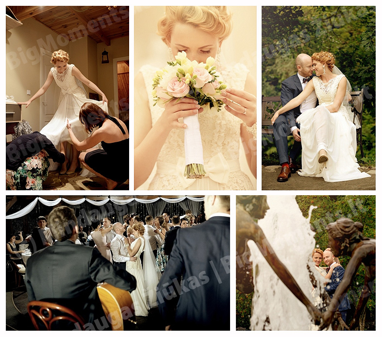 Original photographer in Vilnius, Lithuania. Photojournalistic wedding, portrait photography.